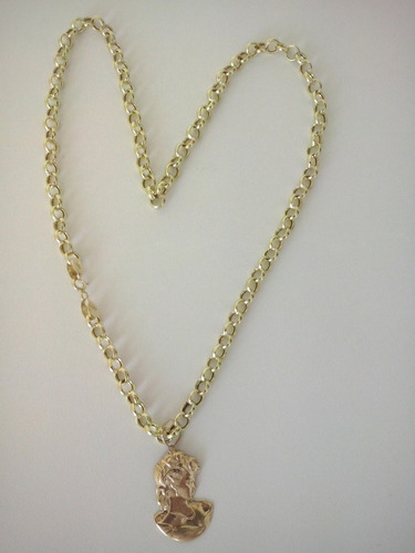 cordão modelo ello português em ouro 18 kl 750.