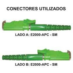 cordão optico sx-sm - e2000-apc / e2000-apc (2 mt)