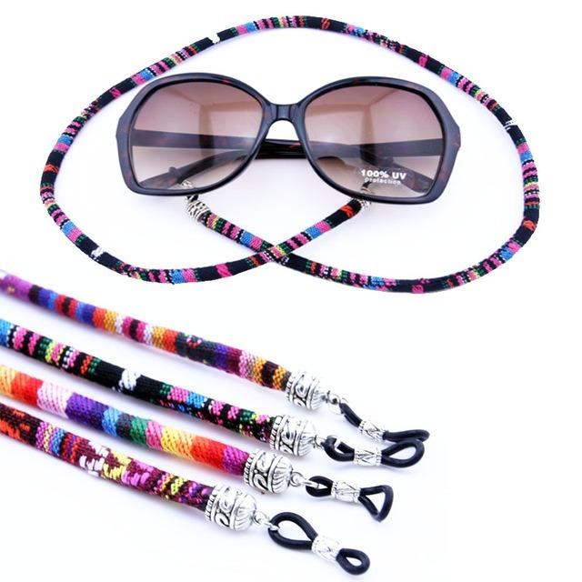b15b188b9ea11 Cordão Retrô Óculos De Sol Algodão Promocional - R  17,90 em Mercado Livre