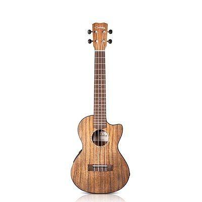 cordoba 23t-ce acústica tenor eléctrico ukulele sólido ovan