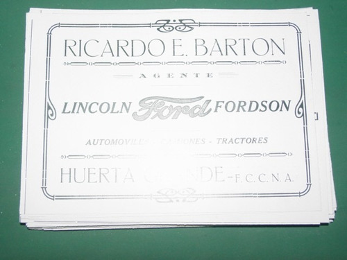 cordoba clipping ricardo barton autos lincoln ford fordson