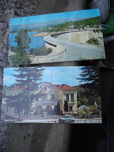 cordoba huerta grande sierras - lote de 2 postales