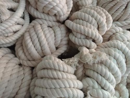 cordon cuerda de algodon macrame calibres 6 8mm 10mm madeja