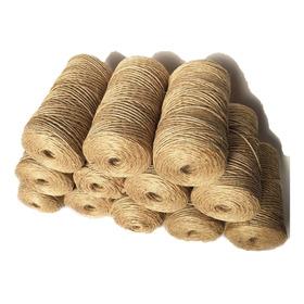 Cordón De Yute Natural, Para Amarrar Los Regalos Y Bolsitas