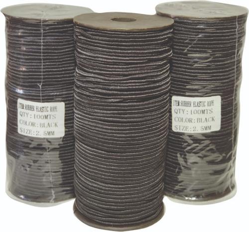 cordon elastico 2.5mm x 100 metros (barbijo. mascaras)