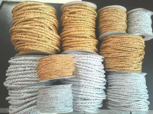 cordón para manualidades y decoración  el precio varía