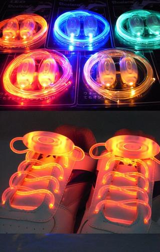cordones led luminosos. (para cualquier clase de zapato)
