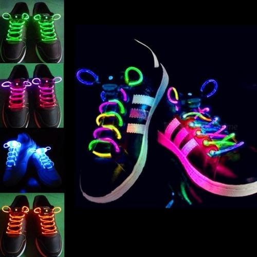la mejor actitud cd8bf 2aeed Cordones Led Luminosos Para Zapatillas Colores Original X 32