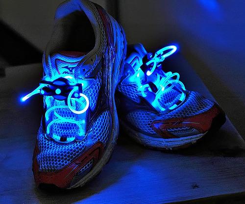 cordones luminosos led distintos colores