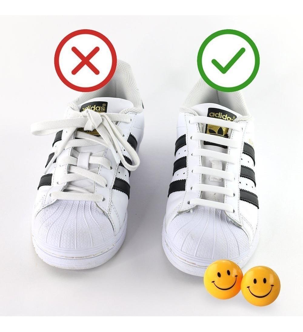mejores zapatillas de deporte 52002 2a752 Cordones Silicona Para Zapatos Y Zapatillas - Goodbyetiearg