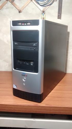 core con monitor computadora dual