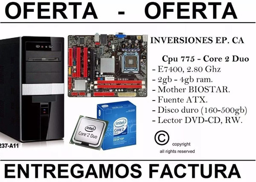 core duo 500gb)