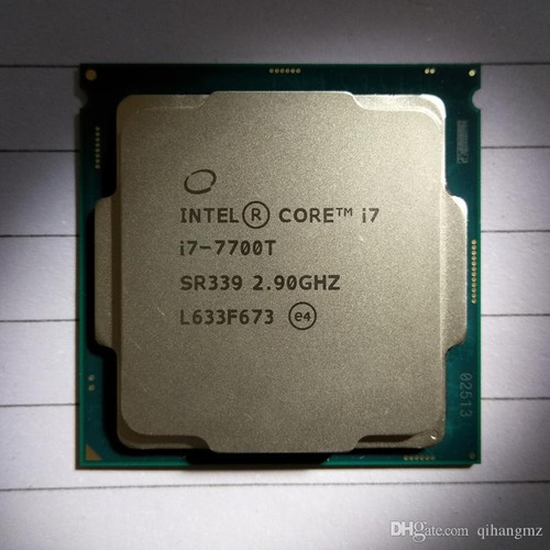 core i7 7700t lga 1151 2.9 a 3,8ghz 7ª geração +cooler intel