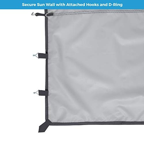 core   pared solar extraíble para toldo recto solo accesorio