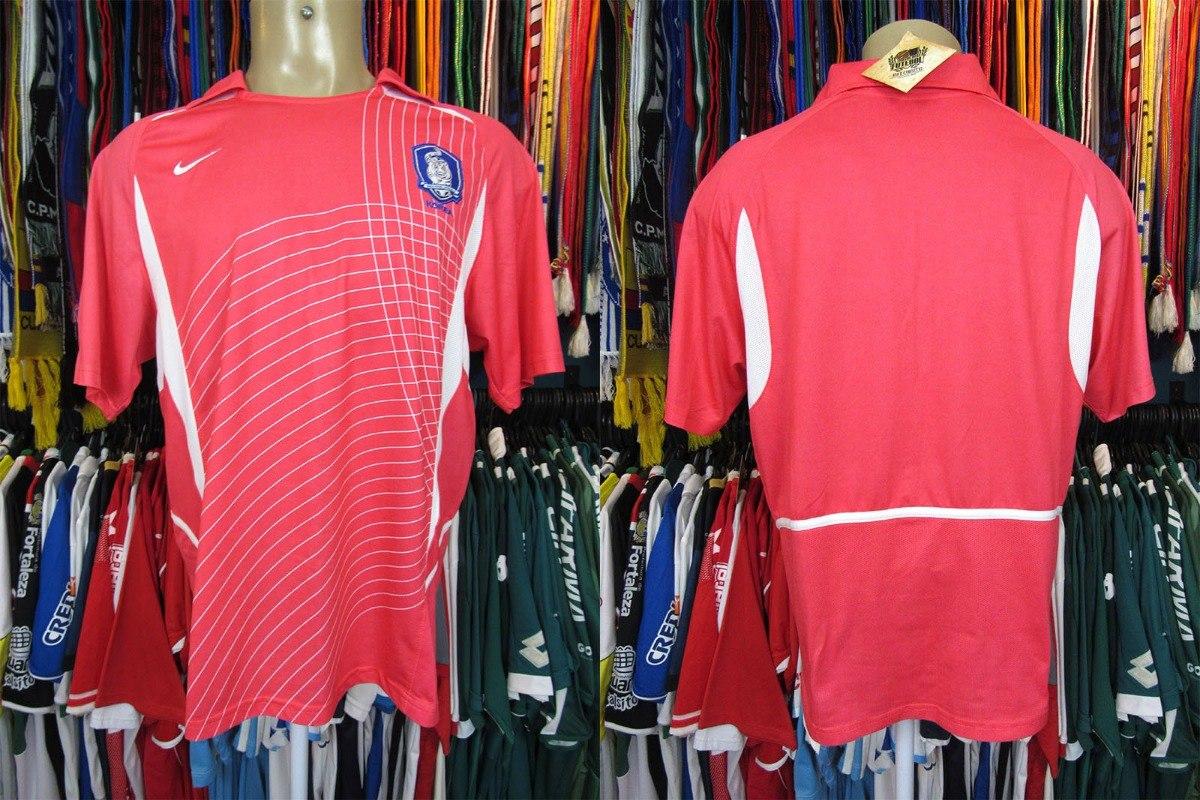 47d26f332d Coréia Do Sul 2002 Camisa Titular Tamanho M. - R  110