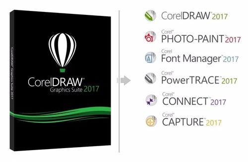 corel draw 2017 licencia permanente original x8 x7 digital