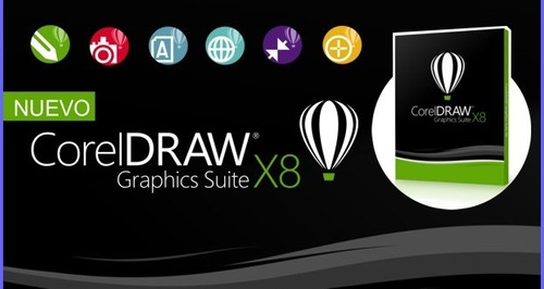 corel draw x8 full - envio inmediato
