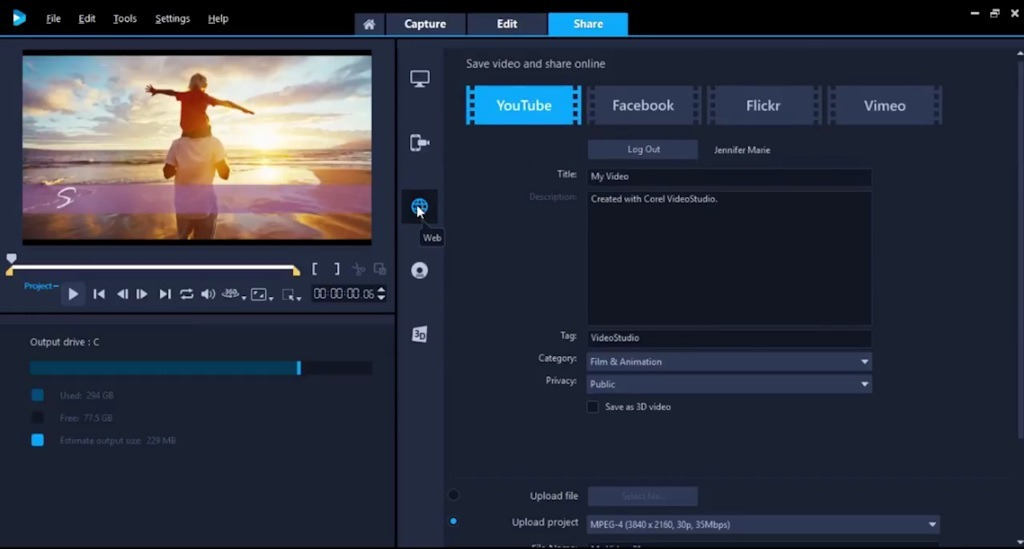 Corel Videostudio Ultimate Pro X10 2018