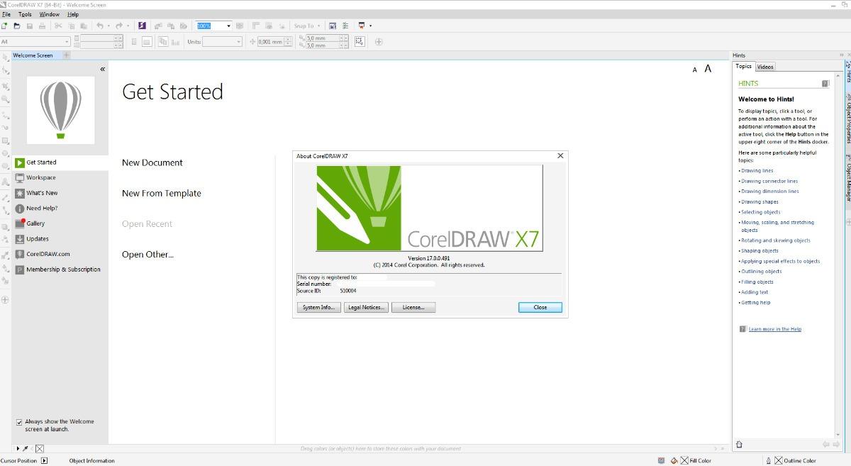Coreldraw X7 32 E 64 Bit Corel Draw Envio Imediato Port R 22 Carregando Zoom