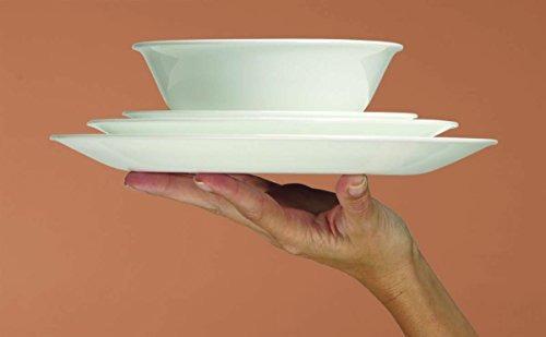 corelle livingware de 16 piezas de vajilla, classic cafe ne