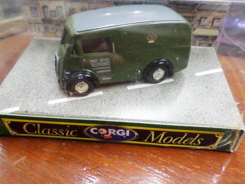 corgi 1/43 england morris j van post office