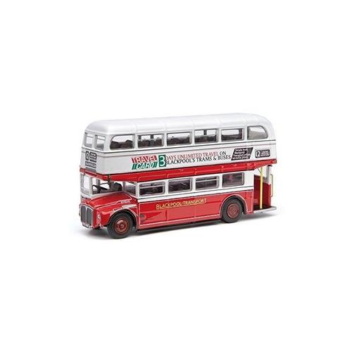corgi 1:76 12 blackpool routemaster transport bus modelo de