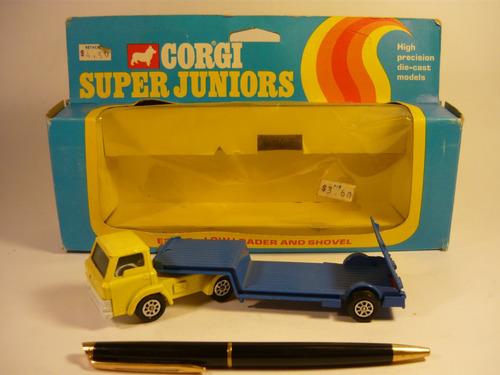 corgi camión ford d camabaja año 1975