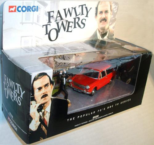 corgi fawlty towers austin 1300 auto john cleese montypython