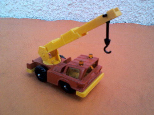 corgi juniors made in england mobile crane