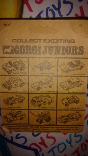 corgi juniors marcos xp ochentero en blíster xprs lyly toys