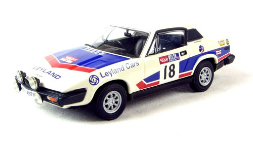 corgi vanguards 1/43 triumph tr7  welsh rally 1976