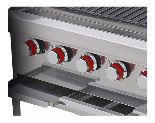 coriat ach-4 petit asador a gas 8 quemadores eco 604570