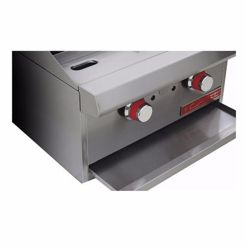 coriat acv-2 master asador a gas 2 quemadores eco 602370