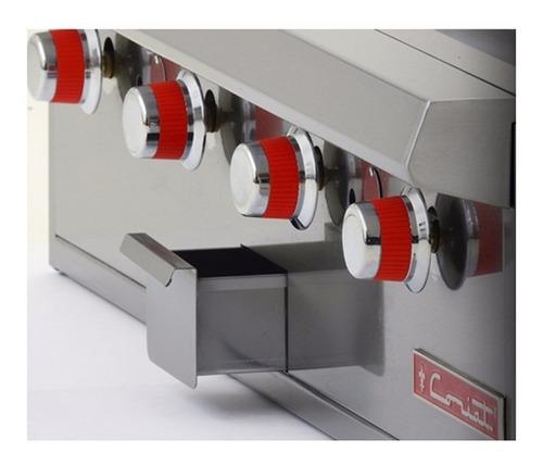 coriat cv-4 master plancha a gas 4 quemadores premium 617300
