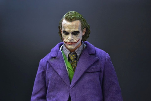 coringa 1/6 joker custom (hot toys enterbay dx11 batman dc)