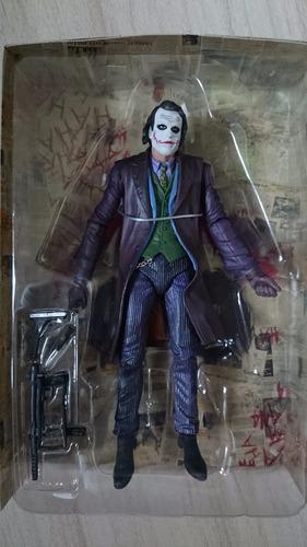 coringa heath ledger joker batman  - 18cm  neca p.entrega
