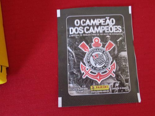 corinthians álbum  campeão dos campeões capa dura c/416 fg