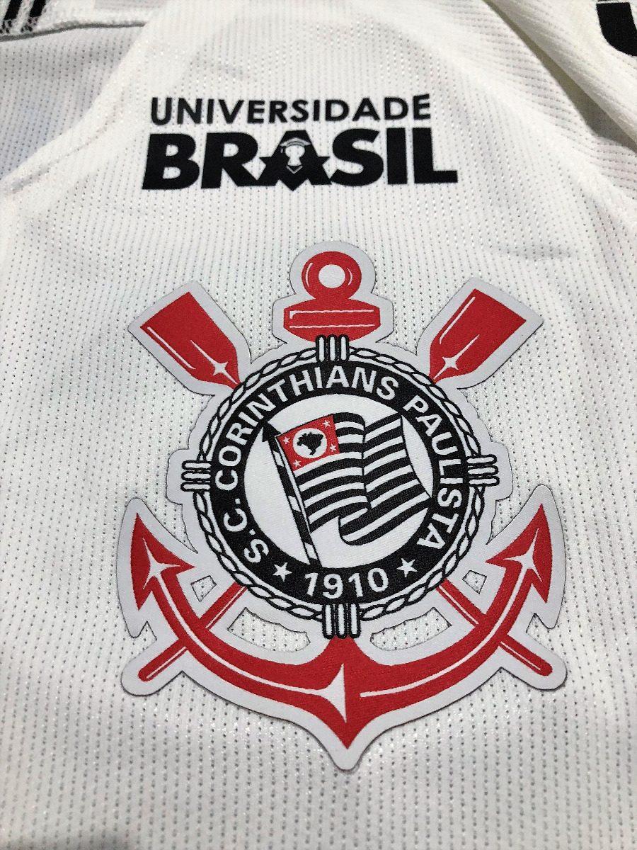 Carregando zoom... camisa corinthians copa brasil 2018 jadson jogo  autografada d8bc50e18577d