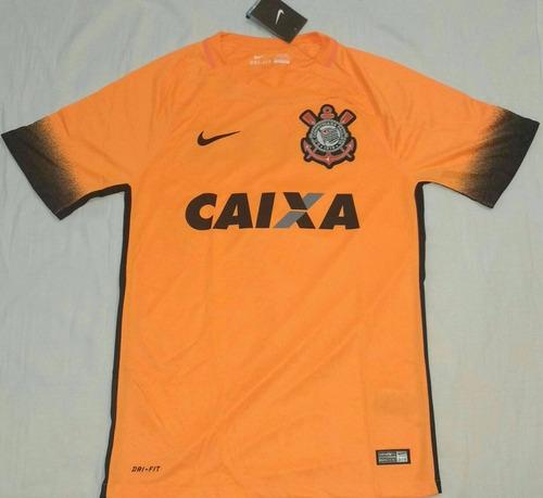 corinthians brasileiro camisa. Carregando zoom... camisa do corinthians  campeão brasileiro 2015 nike original 6b16596c3dae2