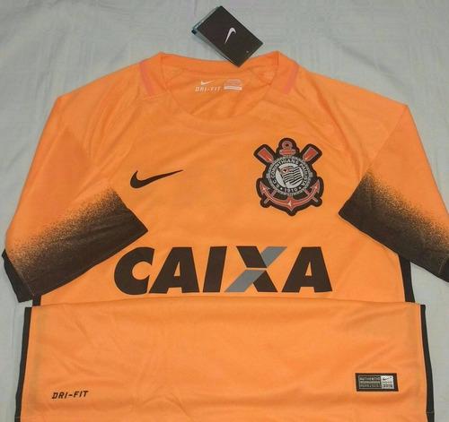 Camisa Do Corinthians Campeão Brasileiro 2015 Nike Original - R  199 ... f275d006d79f7