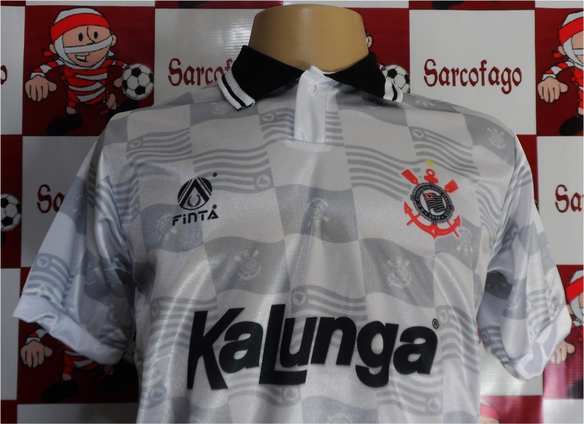 e33291e2f8 Carregando zoom... camisa corinthians retro kalunga campeão brasileiro 1990