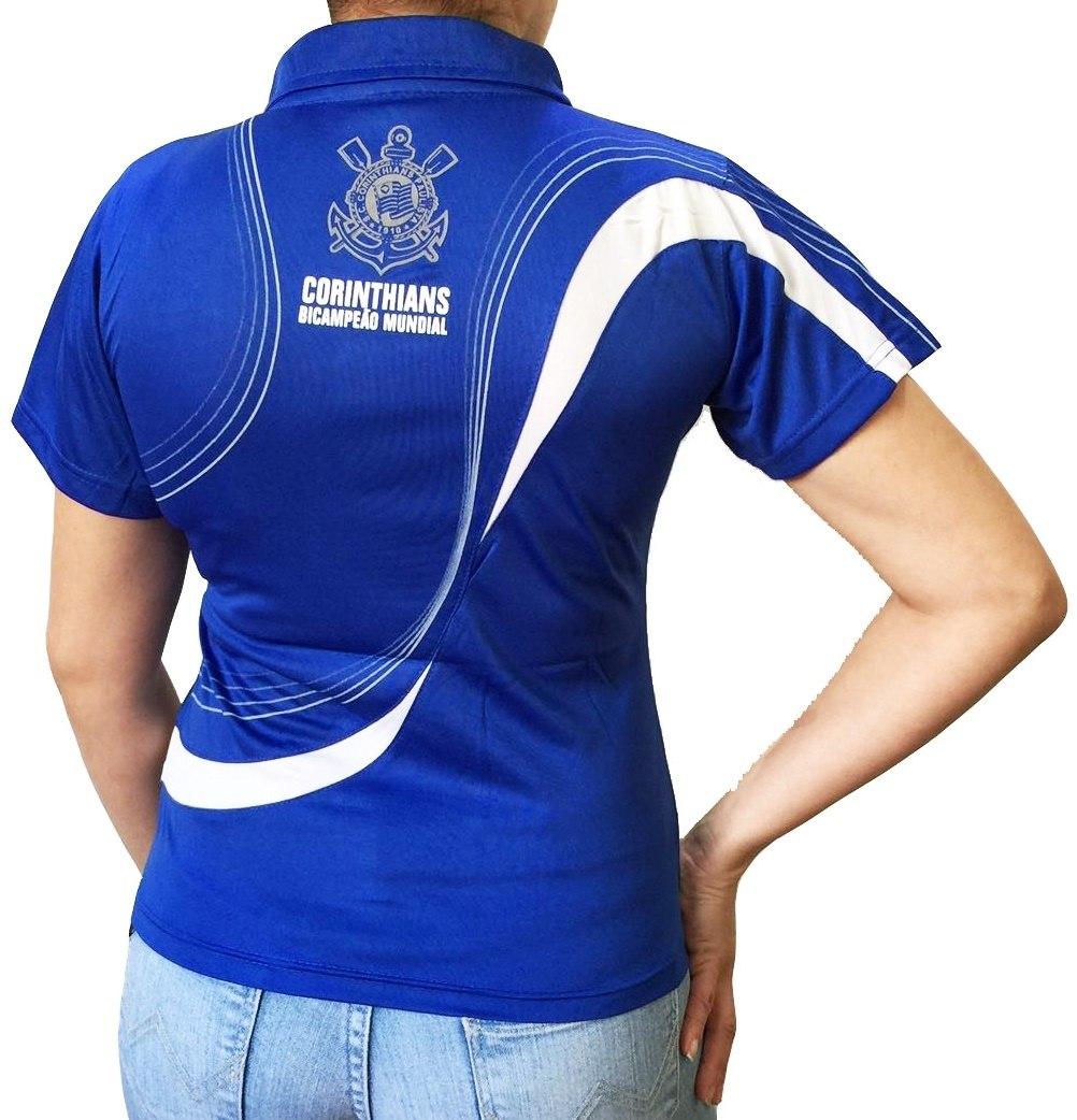 8d1768382e Camisa Polo Do Corinthians Baby Look Feminina Oficial - R  49