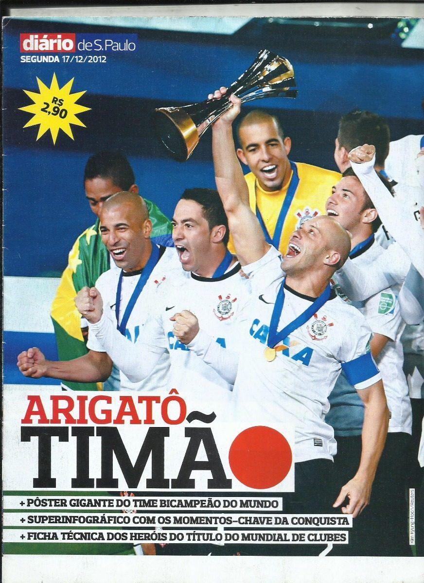 8673eaf425 Corinthians - Revista Poster   Campeao Mundial De Clubes - R  23