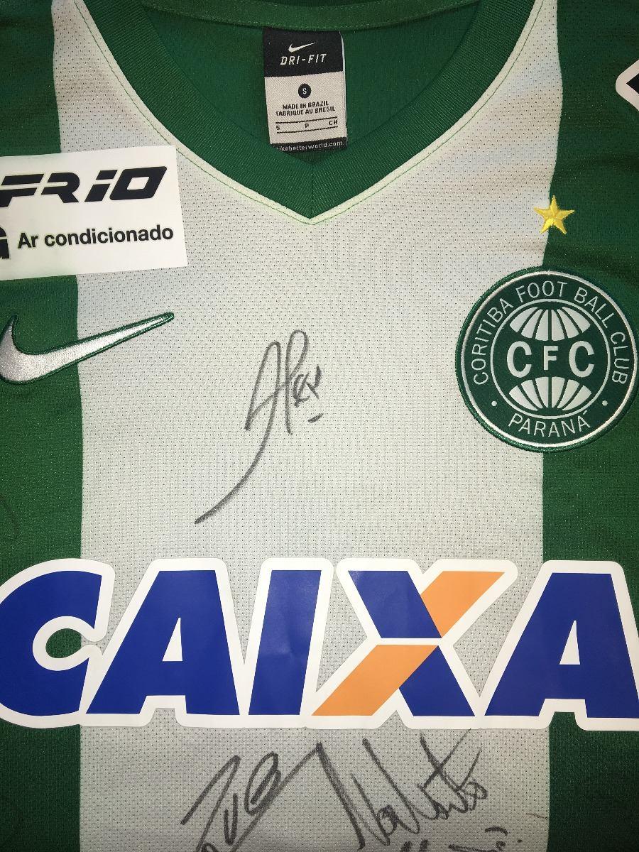 0b6d2a21c9 Coritiba Pr  11 Roni 2014 X Cruzeiro Autografada Elenco Nike - R ...
