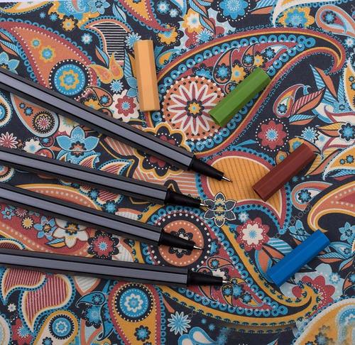 corla arte fineliner conjunto de lápiz de color, de 0,4 mm d