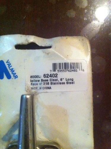 cornamusa de acero inoxidable. 316 de 6 pulgada