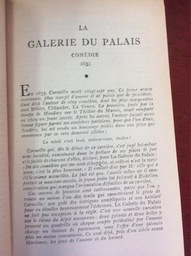 corneille. teatro 2 tomos. francés