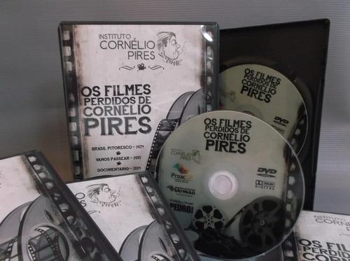 cornélio pires dvd + cd os filmes perdidos de cornélio pires
