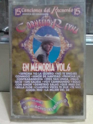 cornelio reyna - 15 canciones con mariachi (casete original)