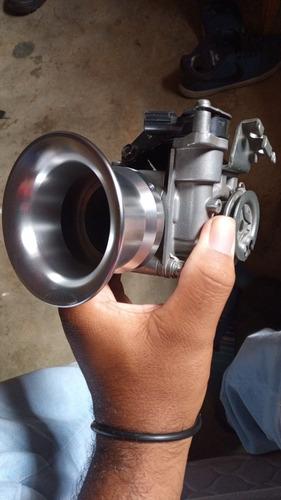 corneta 50mm pra carburador ou tbi, produto novo sem uso.